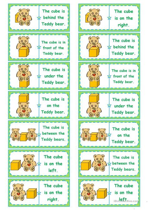 printable domino directions where s the cube preposition dominoes memory cards gap