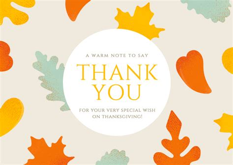 Thank You Card Free