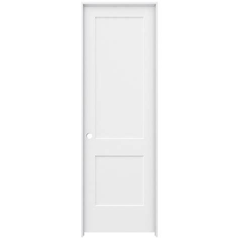 96 Interior Door Krosswood Doors 30 In X 96 In 1 Lite Solid Mdf Primed Right Single Prehung Interior