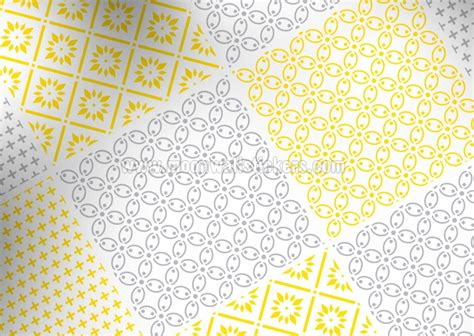 yellow pattern tiles cover tiles stickers yellow pattern