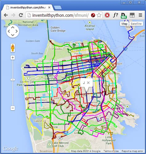 san francisco muni map pdf quot let s create software quot tutorial routes overlaid on