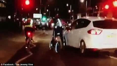 Car Lights On Vine Presenter Vine Takes Aim At Another Driver