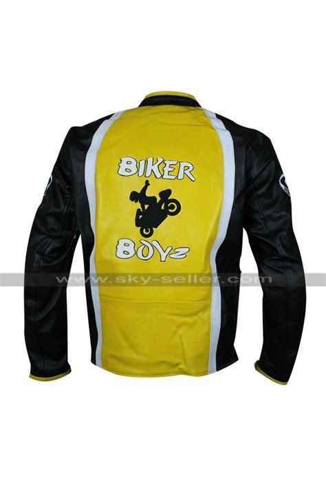 yellow motorcycle jacket biker boyz derek luke yellow motorcycle leather jacket