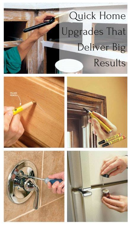 quick and easy home improvements quick home upgrades that deliver big results pinterest