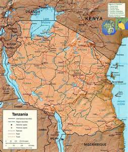 Tanzania Africa Map by Tourist Guide Tanzania Map Lake Victoria Travel Africa