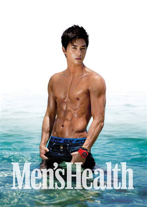 men s korean male model kim ji hoon from men s health magazine