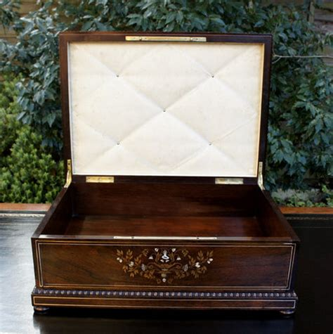 Antique Document Box antique document box rosewood marquetry antiques atlas
