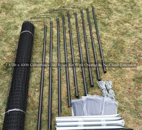 fence kits fence kit co7 8 x 100 strongest