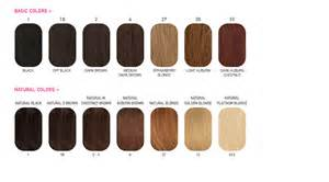 color 2 hair color chart