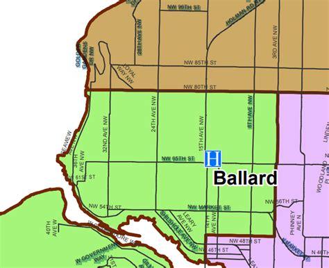 seattle map ballard my ballard news events and restaurants for seattle s