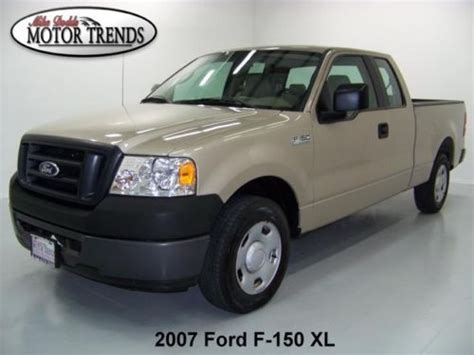 how does cars work 2007 ford f150 head up display sell used 2007 ford f 150 f150 xl extended cab work truck 5 4 v8 spray in bedliner 43k in for