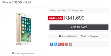 Hp Iphone6 Malaysia 32gb apple iphone 6 2017 is cut in price by 15 in malaysia