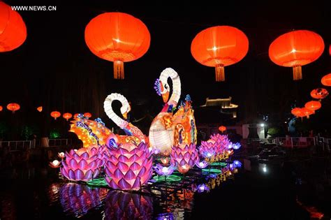 new year lantern festival 2015 harbour tourists visit baotu lantern festival to celebrate
