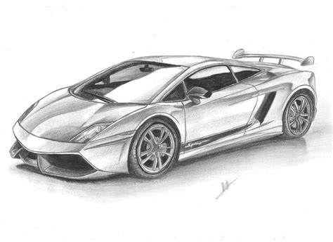 Drawings Of Lamborghinis Lamborghini Gallardo Draw By Samuvt On Deviantart