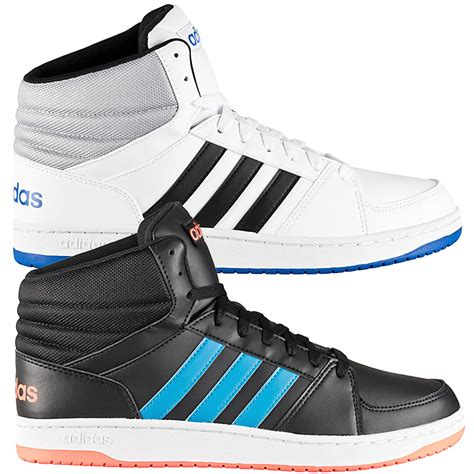 adidas hoops mid vs s sneakers high shoe white black high basketball shoes