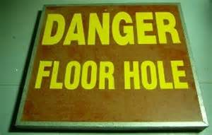 Floor Opening Osha by Construction Safety Floor Hole Opening Fall Protection