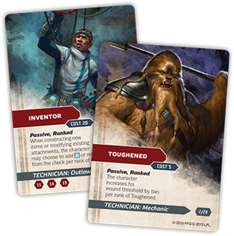 Wars Ffg Npc Card Template by Specialize Your Character Flight