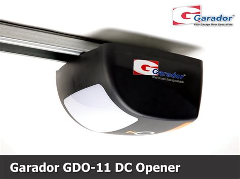 Garador Automatic Garage Door Opener by Garador Gdo 11 Garage Door Opener Garador Auckland