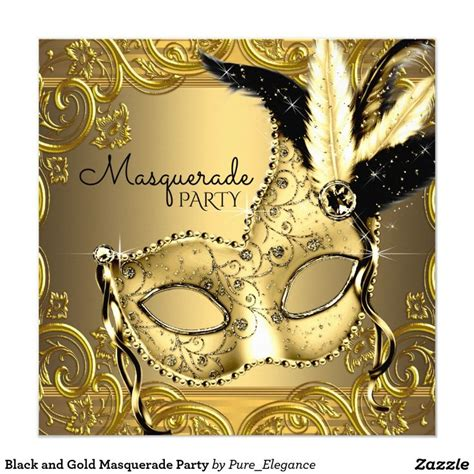 gold themes name 75 best masquerade party images on pinterest invitation