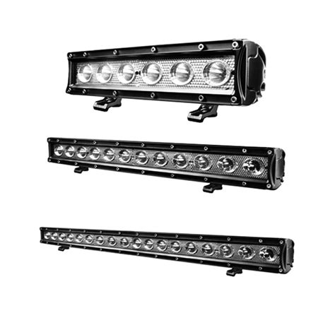 Single Row Led Light Bar Rtx Single Row Spot Beam Led Light Bar Partsengine Canada