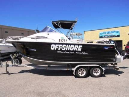 fishing boats gumtree wa quintrex 610 offshore excellent offshore capability
