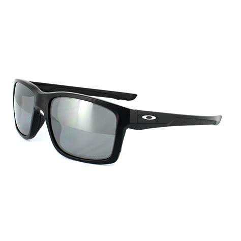 Mainlink Black Doff Polarized oakley sunglasses mainlink oo9264 05 matt black black iridium polarized ebay