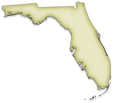 Technology At Home exploring florida color clip art maps
