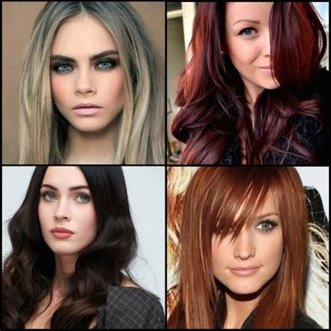 hair colors for your skin tone the best hair color for your skin tone fall lookbook