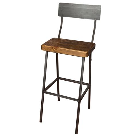 Bar Stools 36 by Industrial Farm 36 Quot Bar Stool Wine Barrel Furniture