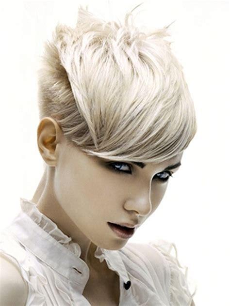 rock chic hair styles 2011
