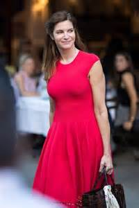Stephanie seymour goes out in nyc