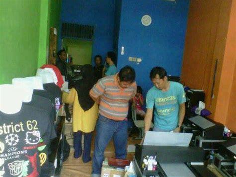 Kaos School Dropout fitinline 7 tempat pembuatan sablon di surabaya