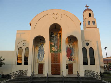 St. Mary Front 2 | Saint Mary & Archangel Michael Coptic ... Flood Relief Donations