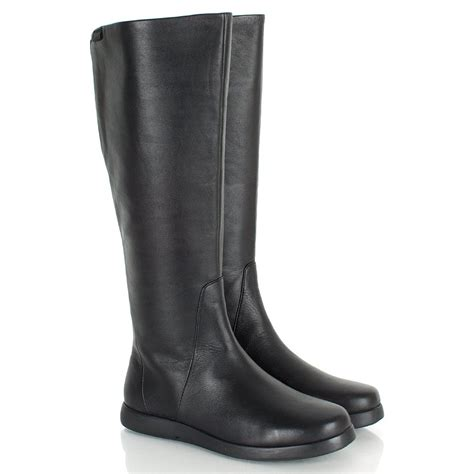 cer black 46630 blues women s flat knee boots