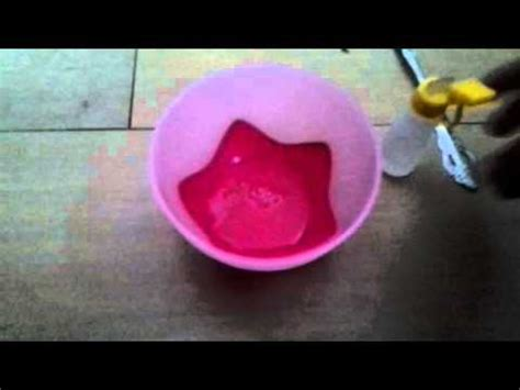 Cara Membuat Slime Dengan Eye Drops | cara buat slime with eye drop youtube