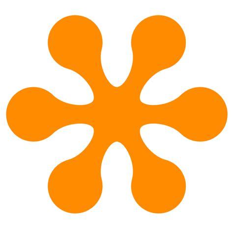 orange colours retro flower 3 color colour dark orange peace xochi info