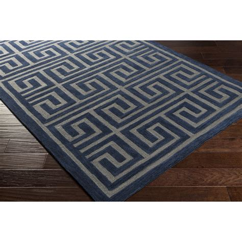 navy and grey rug artistic weavers holden kennedy navy grey area rug reviews wayfair ca