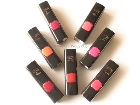 Lipstick Loreal l oreal collection reds all 7 shades