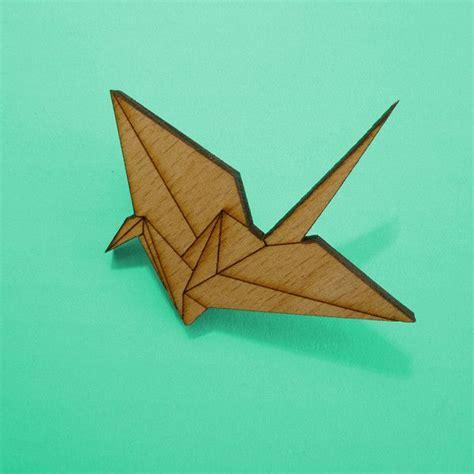 Origami Birds For Sale - kraanvogel broche verlanglijstje origami