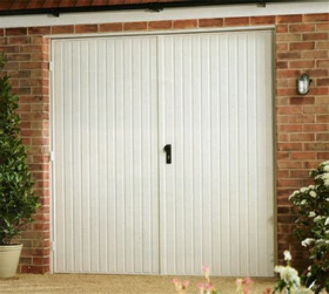 Hinged Garage Doors Steel Side Hinged Garage Doors