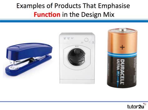 The Design Mix product design tutor2u business