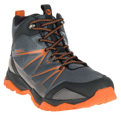 mid trail running shoes cool trainers merrell capra rise mid waterproof trail