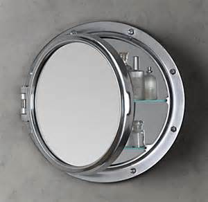 porthole bathroom cabinet royal naval porthole mirrored medicine cabinet