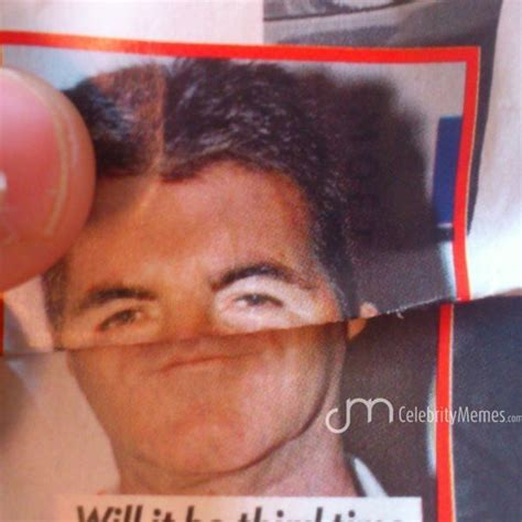 Simon Cowell Meme - simon cowell looking dapper celebrity memes pinterest