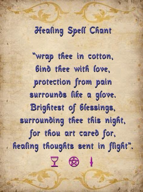 white light healing prayer healing spell chant light a white candle and chant this