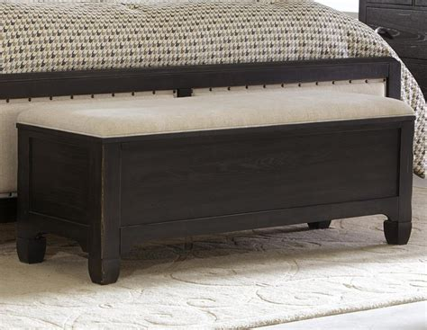 dark wood storage bench simple bedroom with dark wooden storage benches black