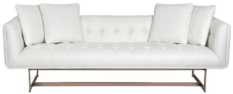 white leather sofa matisse white leather sofa from sunpan coleman furniture