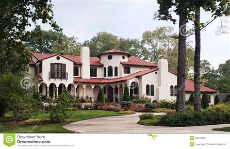 spanish style home spanish hacienda home style house design plans luxamcc