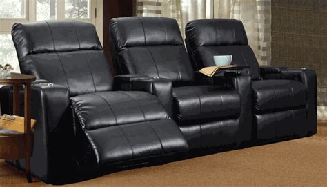 prestige  seat electric leather recliner home cinema