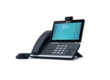 yealink t58v voip phone spécifications i communic8